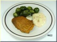 Steak  mit Rosenkohl
