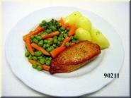 Hähnchenbrust/ Gemüse/ Kartoffeln