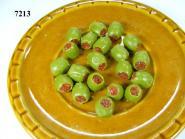 olives, filled, green