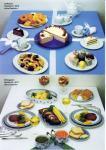 Mittagszeit-Tisch-Dekoration