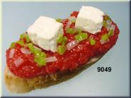 Baguette  mit Tartar