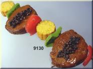Filet-Spieß  mit Maiskölbchen