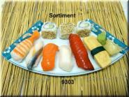 Sushi-Menü 3 ( ohne Platte)