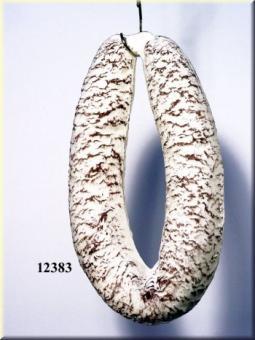 Salami Ring weiß