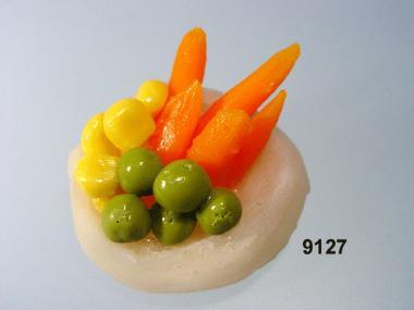 Artischocke  mit Karotte