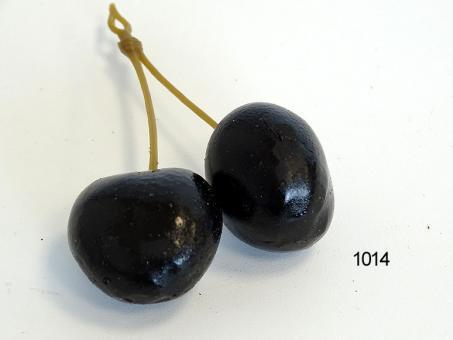 Herzkirschen-Paar schwarz