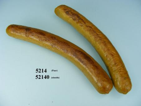 couple of small pork sausages