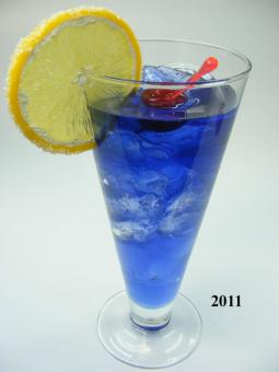 Blaue Lagune Drink