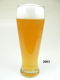 Weißbierglas 0,5  Ltr