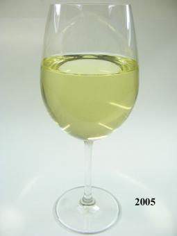Weißwein Glas langstielig (echtes Glas)