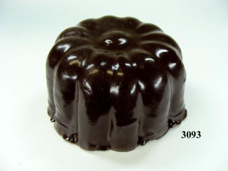 ring-shaped cake chocolate, small