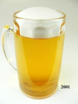 Bierkrug 0,4 Ltr (echtes Glas)