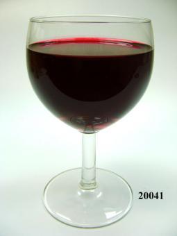 Rotwein Glas kurzstielig