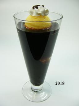 Eis-Kaffee (echtes Glas)