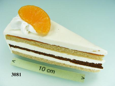 Mandarinen-Torten-Stück