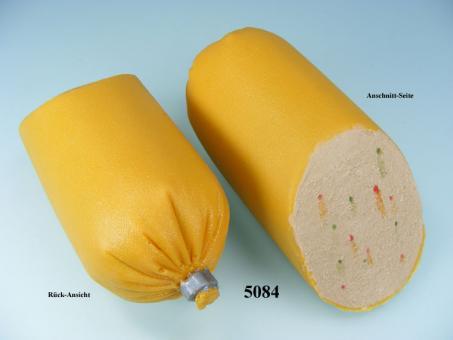 Leberwurst Paprika, angeschnitten