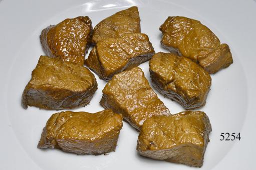 Pieces of meat fried ( 100 gr )