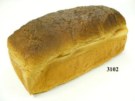 tin loaf, white