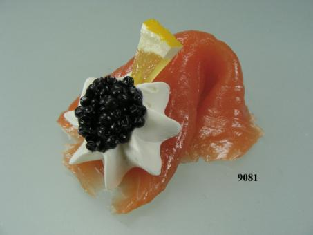 Lachs  mit Kaviar