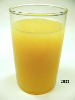 Orangensaft (echtes Glas)