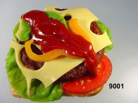 Hamburger  auf Toast
