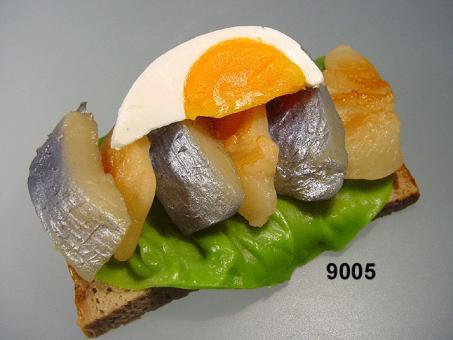 Matjes-Brot