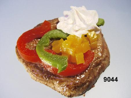 Filet  mit Paprika