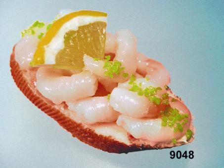 Baguette  mit Shrimps