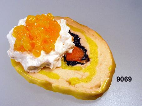 Roulade  mit Kaviar