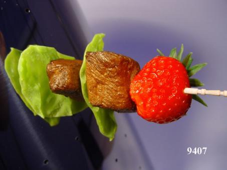 Spiess Erdbeere/Fleisch