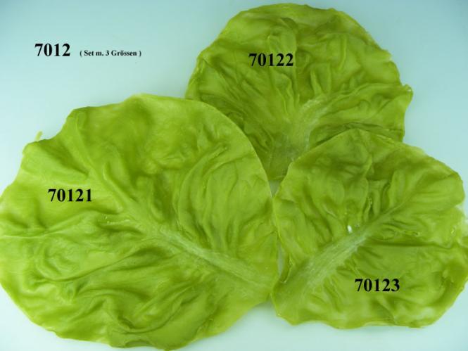 Salatblatt  3-er Set