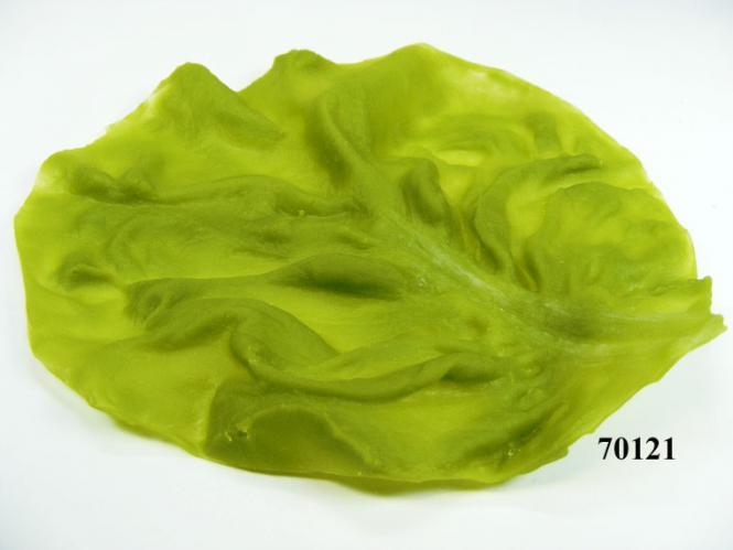 Salatblatt einzeln gross