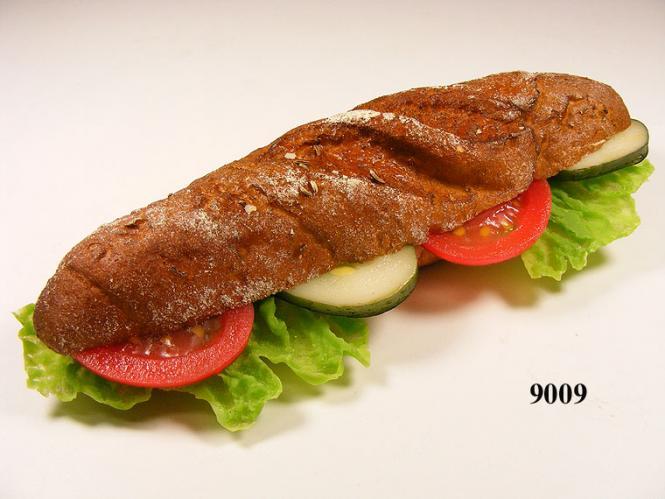 Kornspitz m. Salat