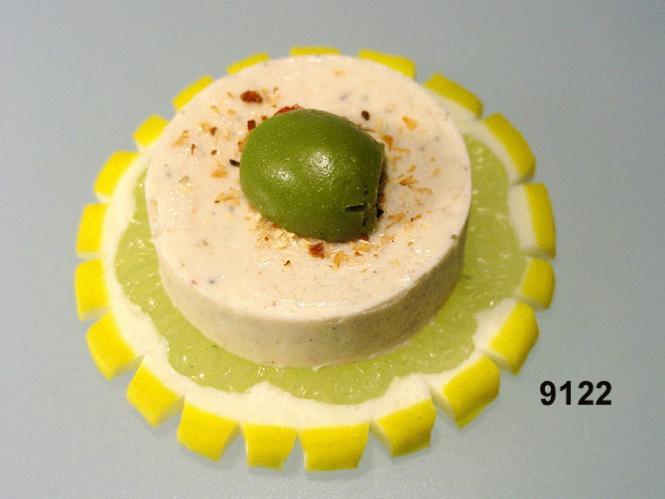 Zitronen-Scheibe / Kräuterbutter